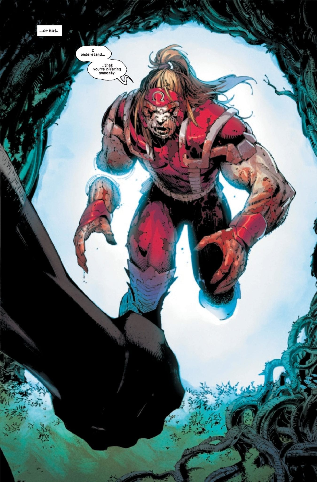 Wolverine 1 Omega red
