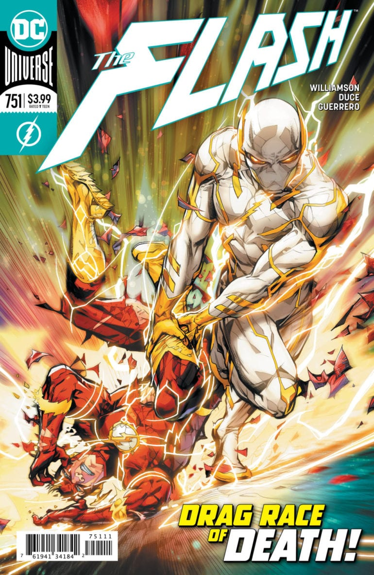 The Flash 751 cover