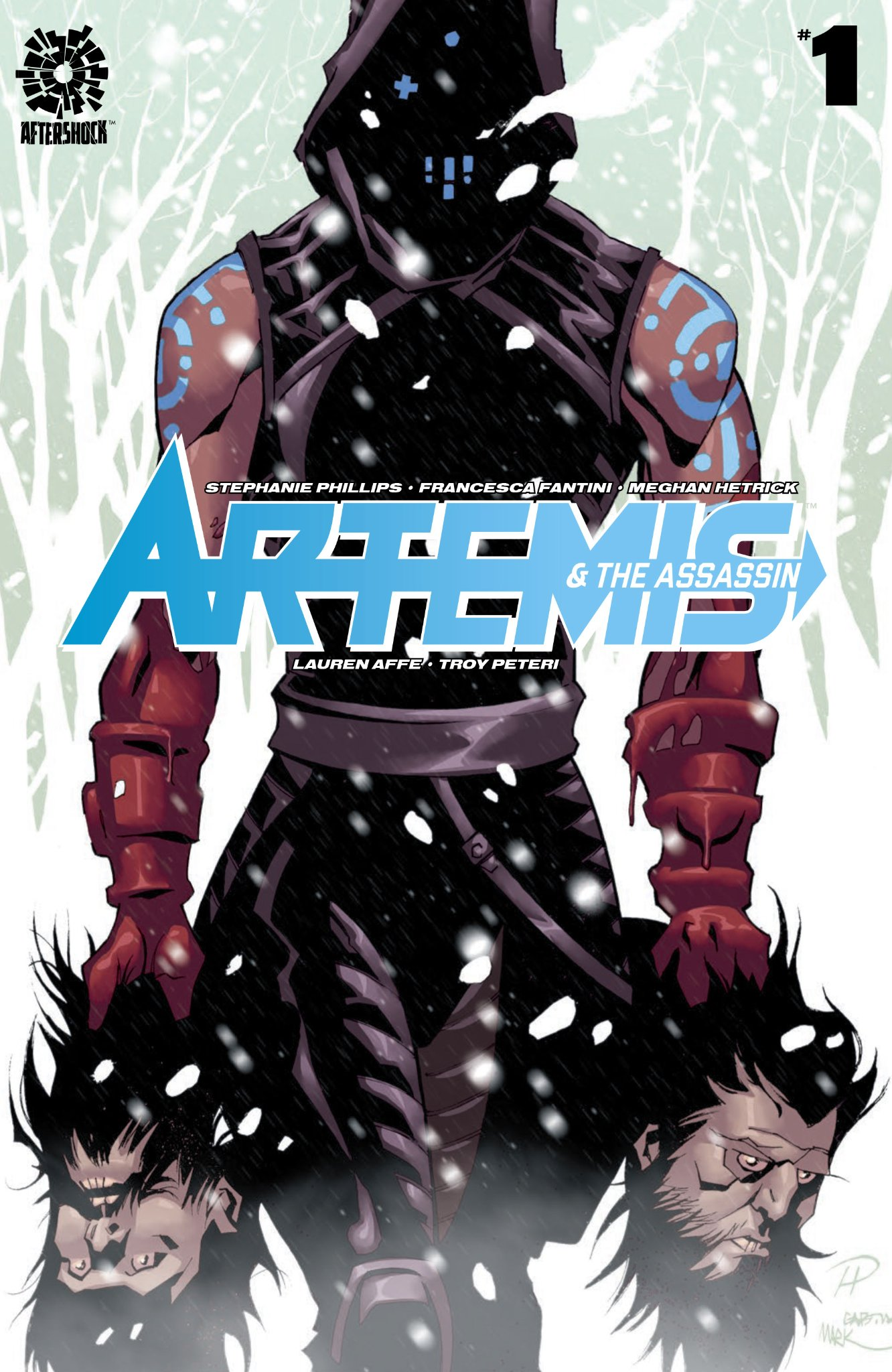 artemis and the assassin aftershock comics stephanie phillips