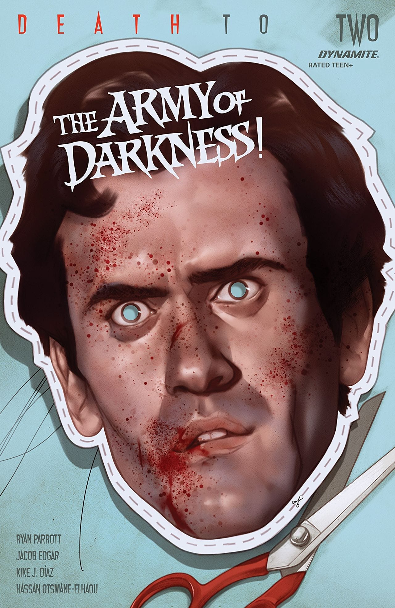 Who doesn't want a face full of Ash? Death to The Army of Darkness #2 COVER