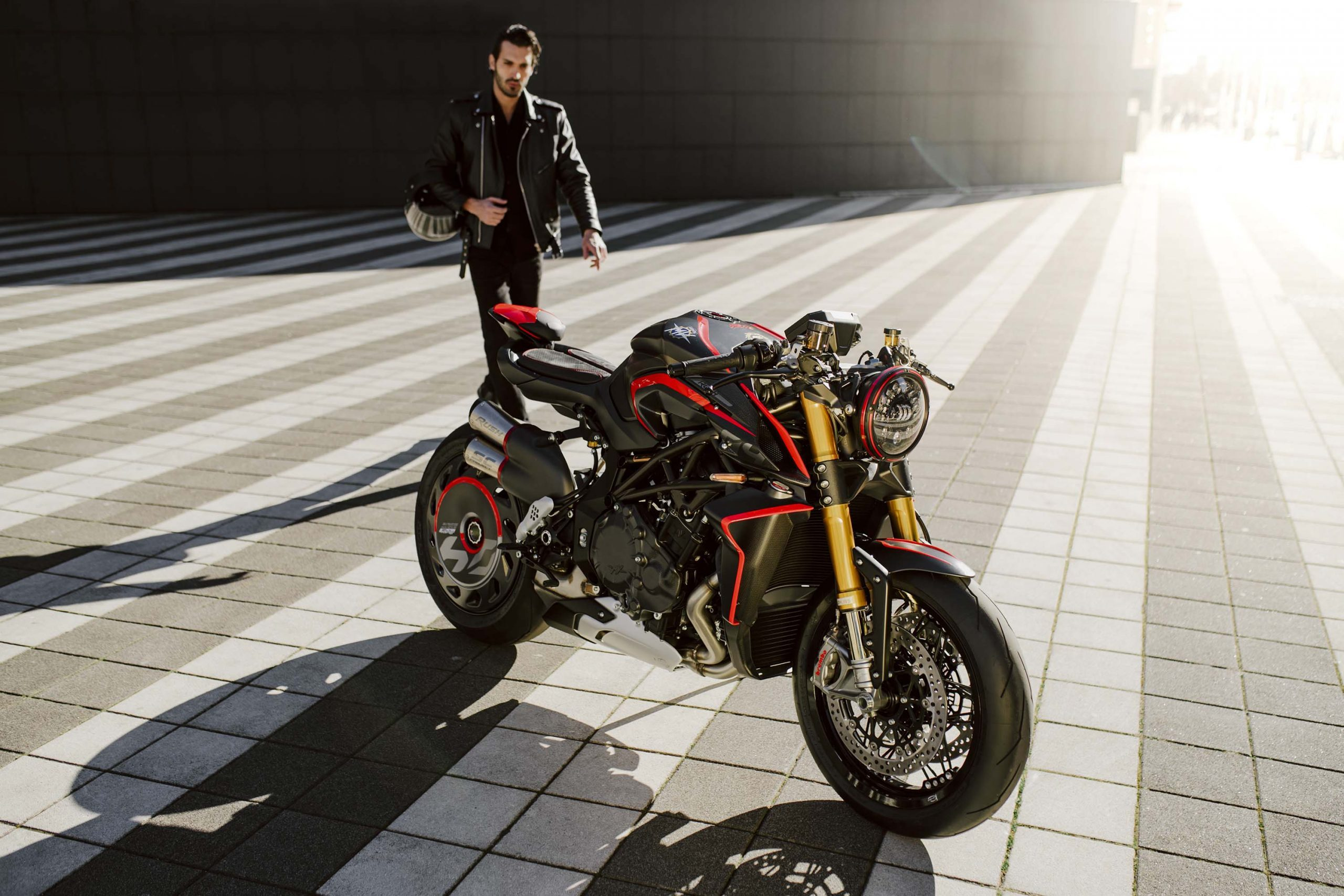 MV Agusta is again back with a new superbike Rush 1000