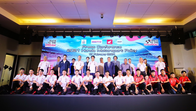 honda thailand racing