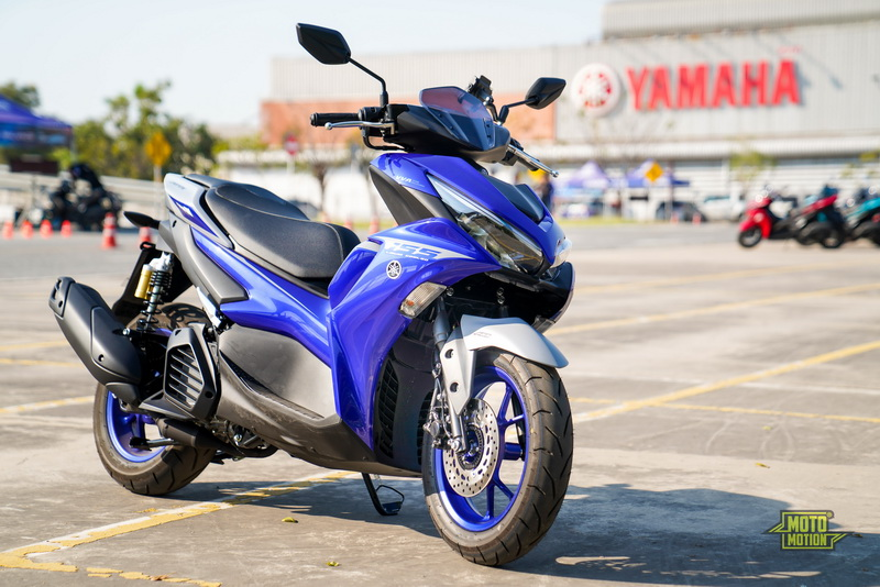 New Yamaha Aerox