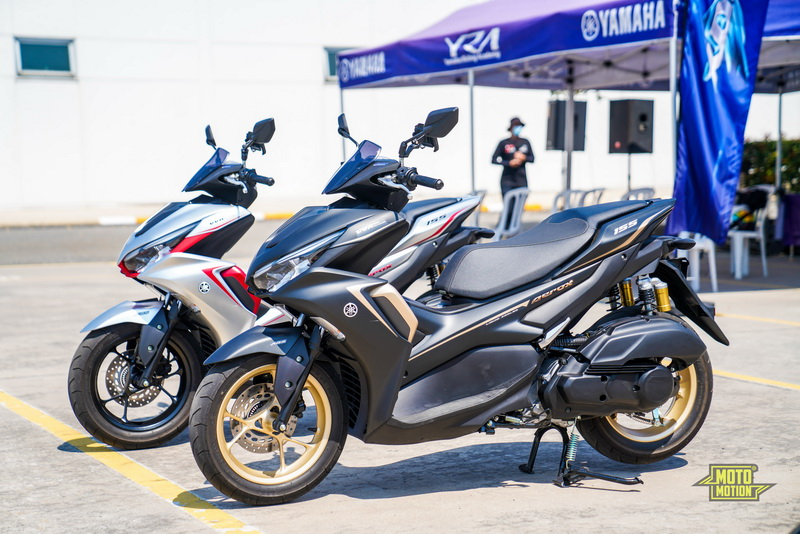 all New Yamaha Aerox