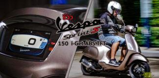 Vespa Sprint S 150 i-Get ABS TFT