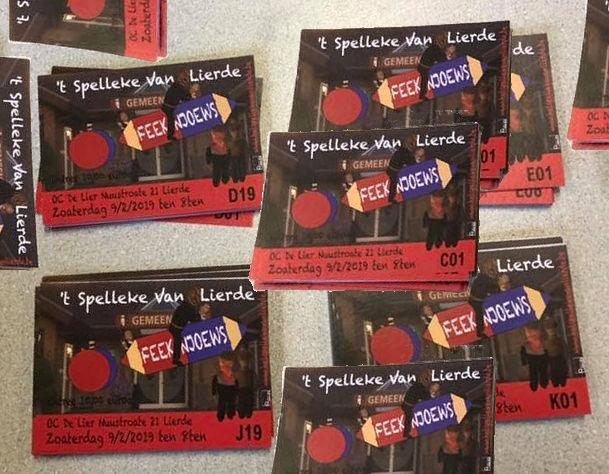 tickets Spelleke van Lierde