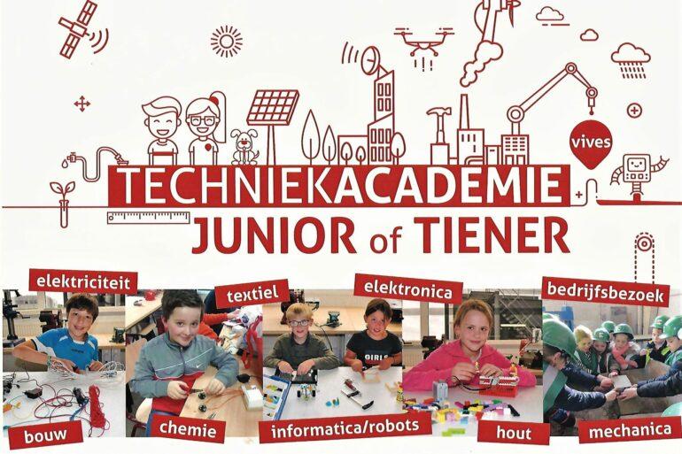 flyer aankondiging Techniekacademie