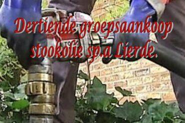 stookolie vullen van de tank