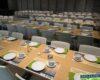 Gedekte tafels seniorenfeest Cultuurraad