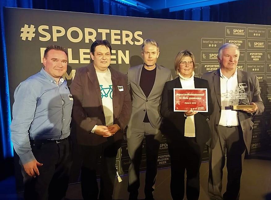 Lierdse delegatie op de sportersbelevenmeer award