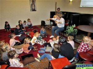 KUSdeGIRAF op het Sinterklaasfeest van FCH