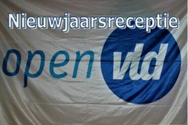 Vlag open VLD nieuwjaarsreceptie 2020 Lierde