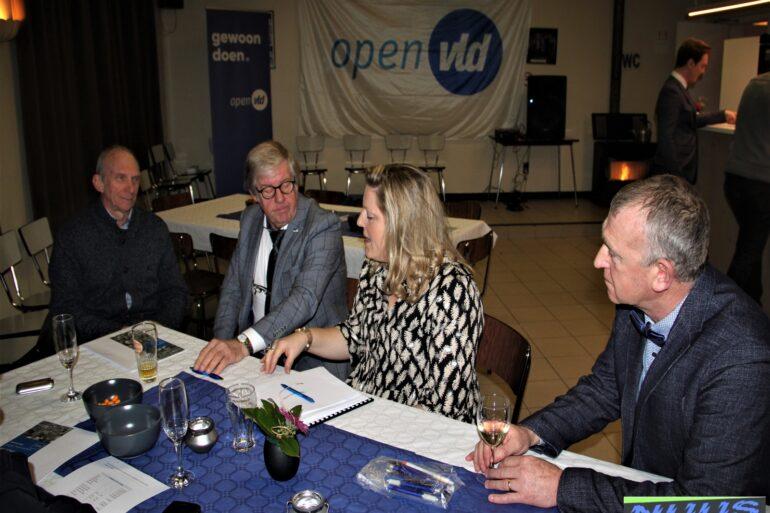 Infosessie Open VLD Lierde.