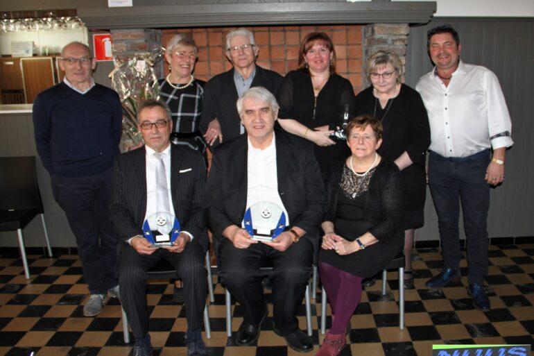 Manillen club Sint Jan Troef Hemelveerdegem. bestuur