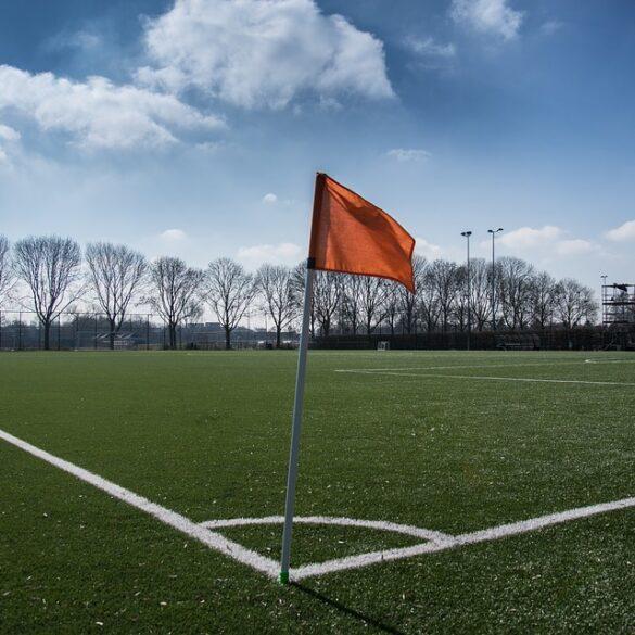Plein mbt RUP voetbal.