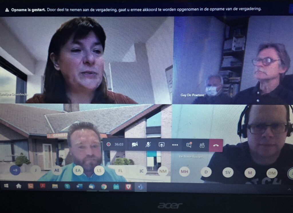 virtuele gemeenteraad