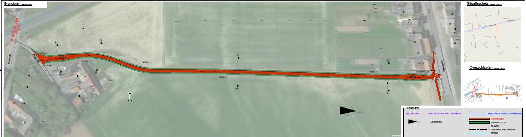 OW60 plan spoorwegovergang Lierde