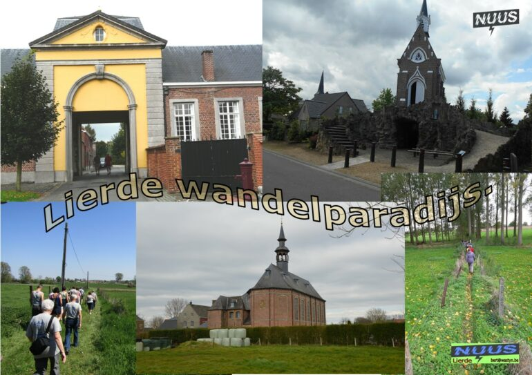 collage Lierdse landschappen