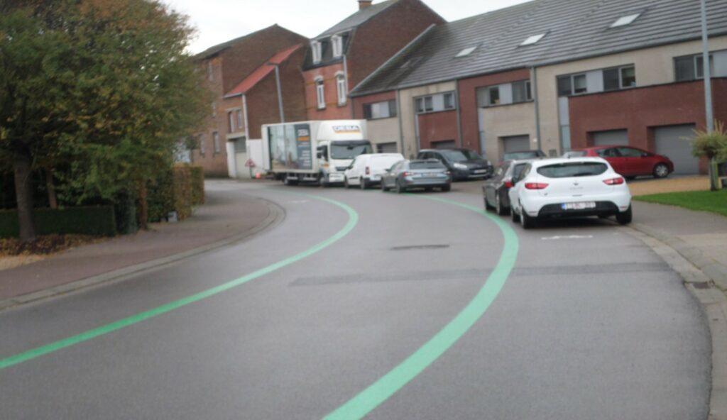 Initiatief voor zwakke weggebruiker dient als parkeerstrook