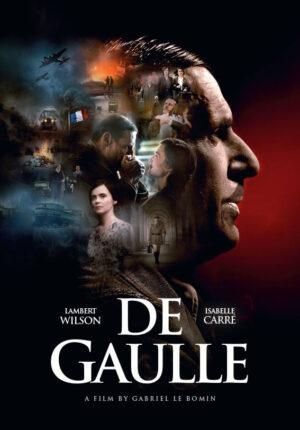 De Gaulle poster - a film by Gabriel Le Bomin