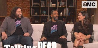 'TWD Cast On The Crying Baby Scene' Highlights Ep. 911 | Talking Dead