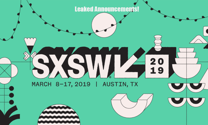 sxsw leaked announcements