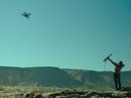 woman at war drone