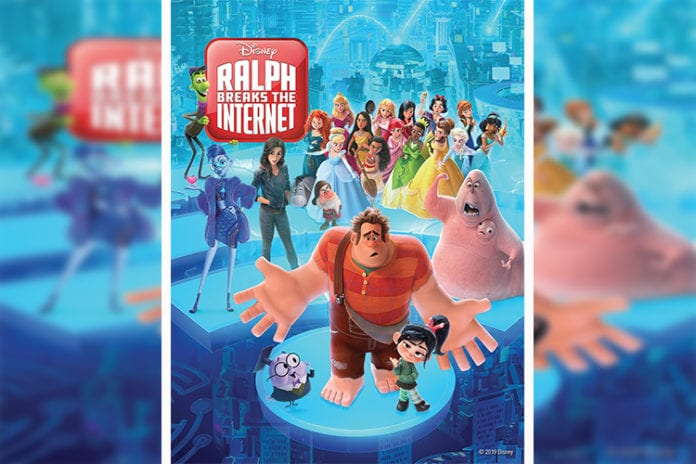 Win A Digital Copy Of Disney's RALPH BREAKS THE INTERNET