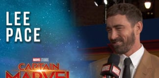Lee Pace arrives at the Captain Marvel Red Carpet Premiere!
