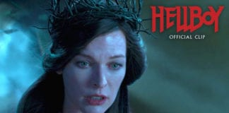 """Hellboy (2019 Movie) Official Clip """"Arrived"""" – David Harbour, Milla Jovovich"""