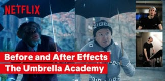 The Umbrella Academy | BTS of Pogo's VFX | Netflix