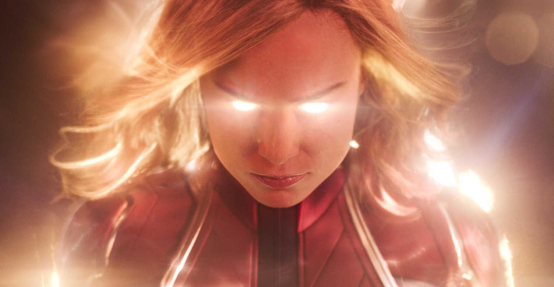 captain marvel glow