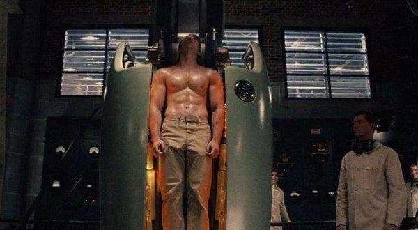 Captain America Transformation