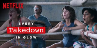 Every Take Down in GLOW | Netflix