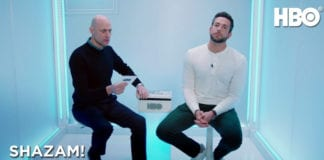 SHAZAM! Stars Zachary Levi, Mark Strong Play Superhero Trivia | HBO