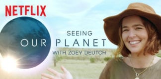 Zoey Deutch's Our Planet African Safari Video Diary   Netflix