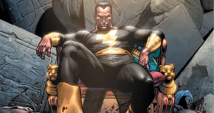 black adam shazam! shazam dc comics the rock dwayne johnson