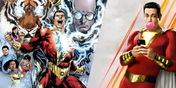 Shazam! easter eggs shazam dc comics
