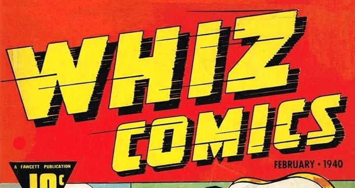 whiz comics fawcett comics dc comics shazam! shazam
