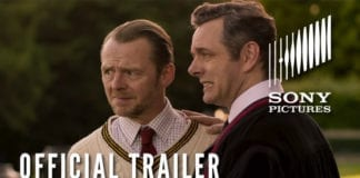 Simon Pegg stars in the Horror Comedy Slaughterhouse Rulez- In Theaters and on Digital 5/17
