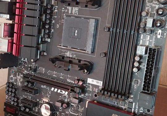 Sneak peak MSI FM2+ A88XM Gaming Motherboard