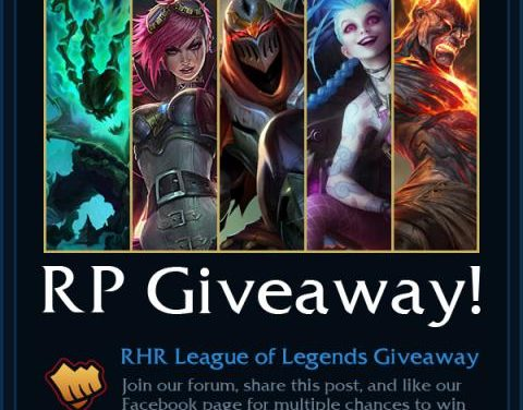 League of Legends RHR Giveaway Join Now