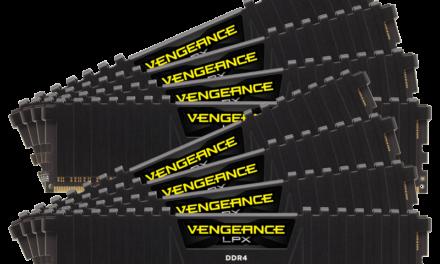 Corsair Announces 128GB DDR4 Memory Kits