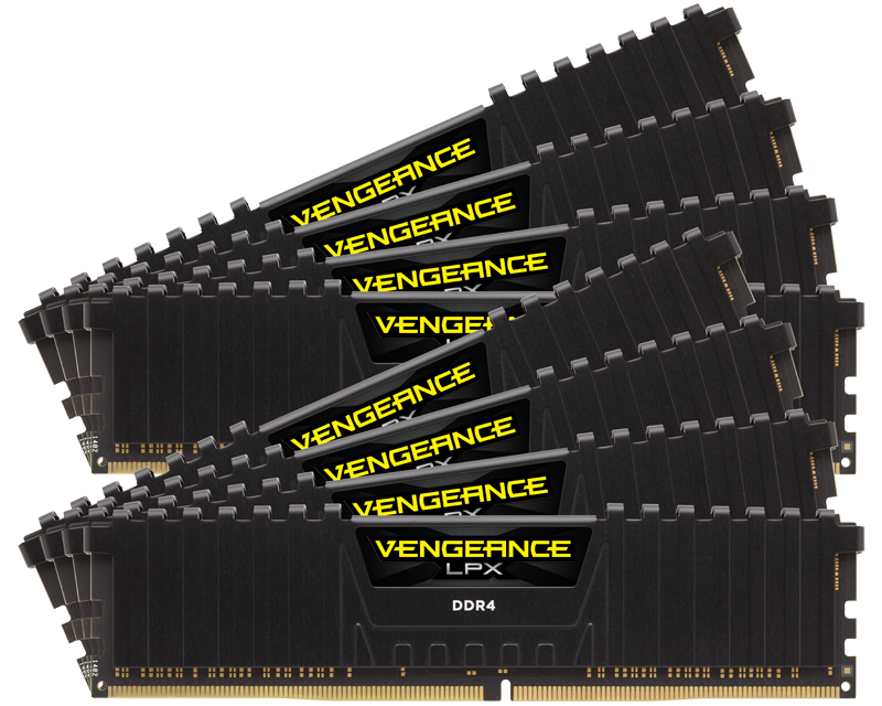 Corsair Announces 128GB DDR4 Memory Kits
