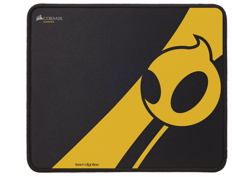 MM300 Dignitas 02 - Corsair: Team Dignitas Edition gaming mouse and mat