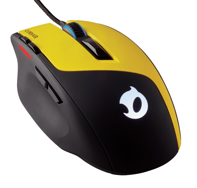 Sabre Dignitas02 - Corsair: Team Dignitas Edition gaming mouse and mat