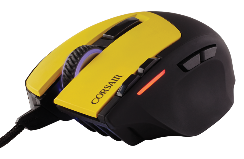 Sabre Dignitas03 - Corsair: Team Dignitas Edition gaming mouse and mat