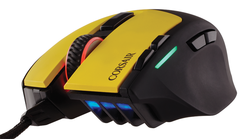 Sabre Dignitas04 - Corsair: Team Dignitas Edition gaming mouse and mat