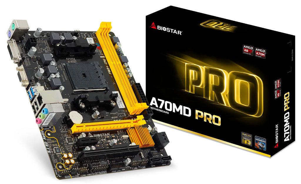 BIOSTAR PRO Series AMD Motherboards