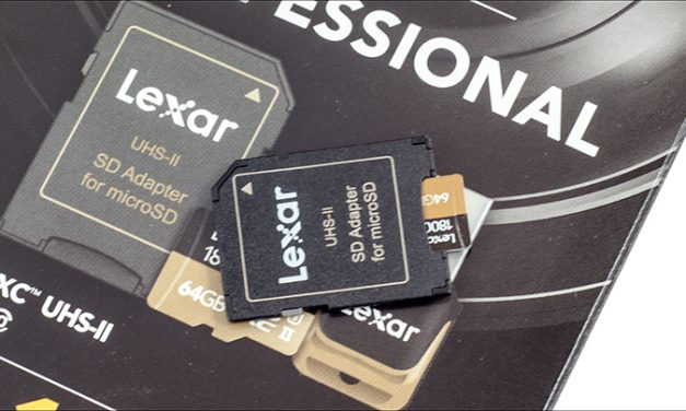 Lexar Professional 1800x Micro SDXC